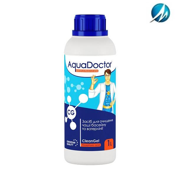 Средство для очистки ватерлинии AquaDoctor CG CleanGel, 1 л