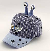 Детская бейсболка кепка с 46 по 50 размер детские бейсболки головные уборы кепки лён для мальчика, фото 1