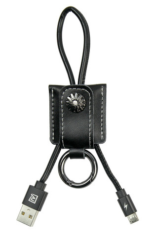USB кабель Remax Moss RC-079m MicroUSB Black