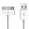 Кабель USB для зарядки Apple iPhone 4G / 4S белый 1м, фото 3