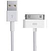 Кабель USB для зарядки Apple iPhone 4G / 4S белый 1м, фото 4