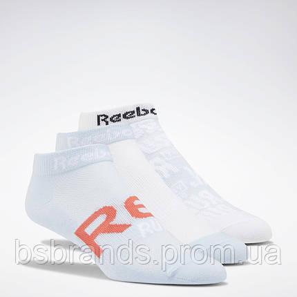 Спортивные носки Reebok Run Club, 3 пары FL5473 (2020/1), фото 2