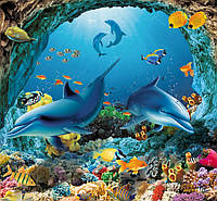 Фотообои Дельфины № 16