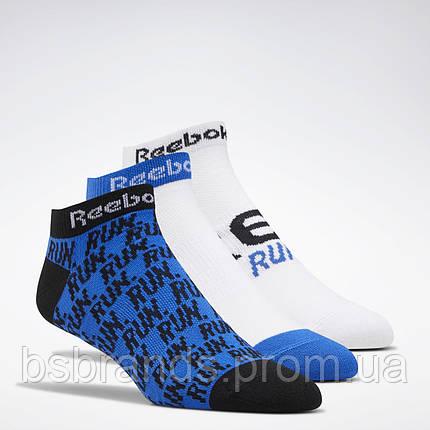 Спортивные носки Reebok Running Club, 3 пары FL5471 (2020/1), фото 2