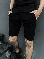 Чоловічі Шорти Intruder Чорні трикотажні жіночі Розміри S M L XL XXL S, 46