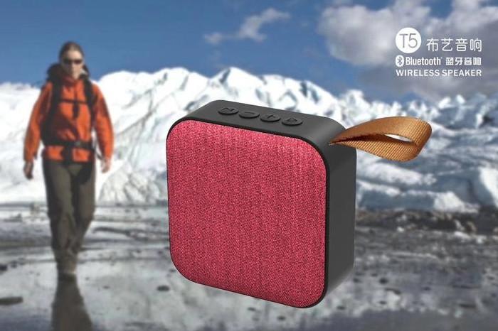 Портативная Bluetooth колонка T5 красная