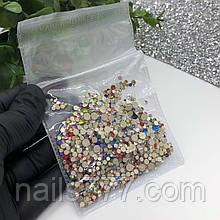 Стрази мікс для дизайну нігтів , кольорові