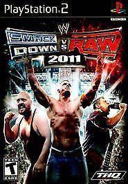 Игра для игровой консоли PlayStation 2, WWE SmackDown vs. RAW 2011