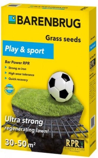 Семена газонной травы Универсально-Спортивная Barenbrug Bar Power RPR 1кг