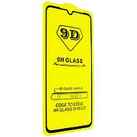 Защитное стекло 9D для Xiaomi Mi9  2019 black