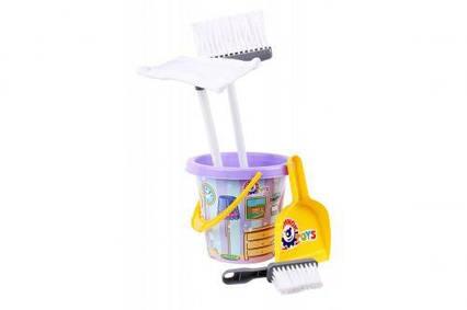 Набор для уборки (фиолетовый) 5835