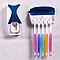 Диспенсер для зубной пасты с держателем, фото 3