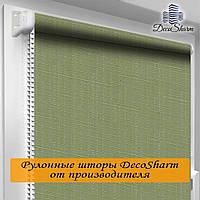 """Шторы 3д """"DecoSharm"""" Лён 2098"""