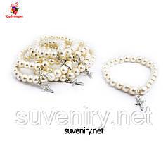 Женские браслеты на руку жемчуг