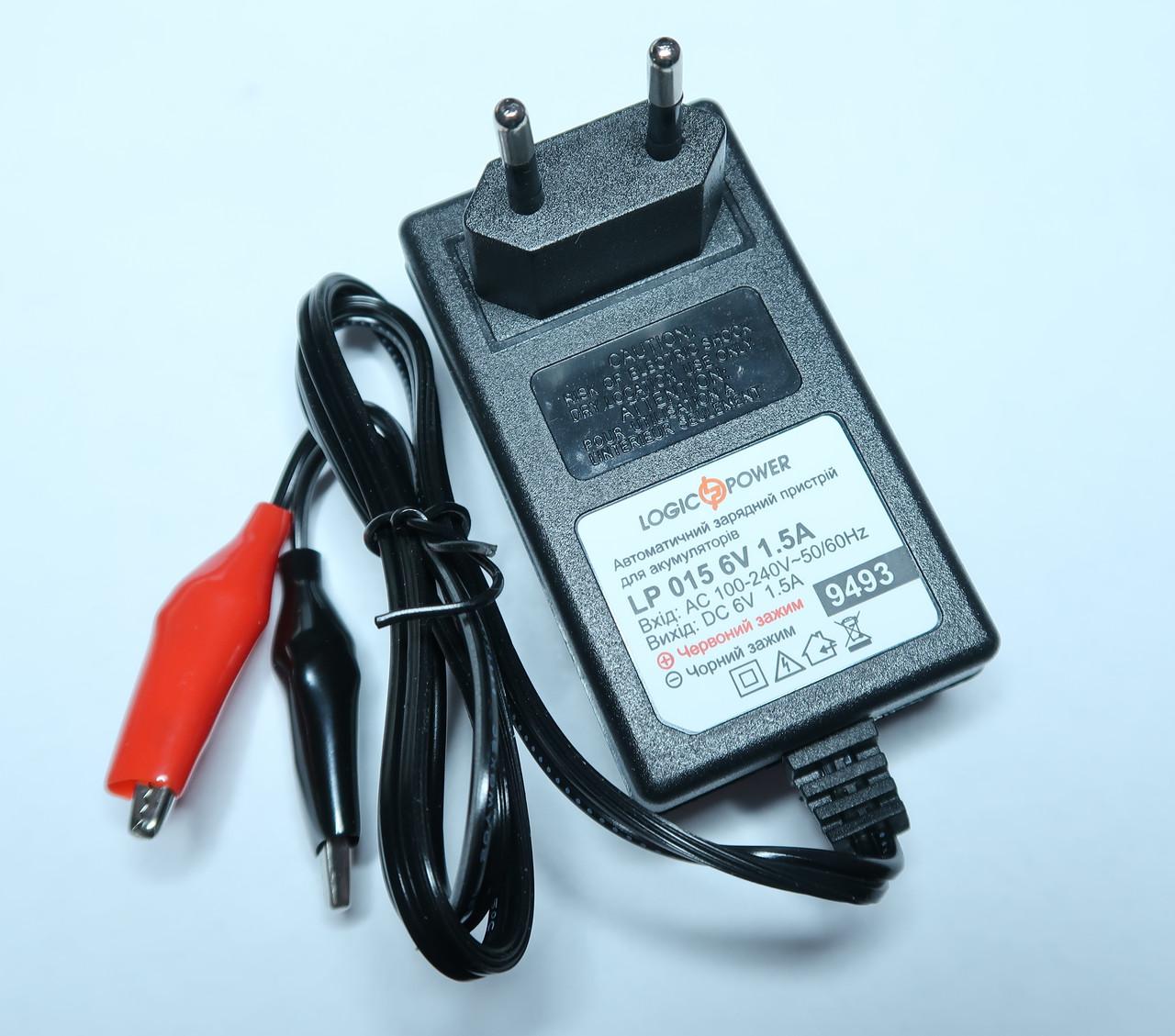 Зарядное устройство для аккумуляторов LP AC-015 6V 2A