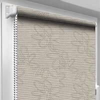 Рулонные шторы на трехстворчатое окно DecoSharm В1008 -