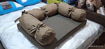 Диван лежанка Premium  для больших собак90 х 70 см.Лежанка,Лежаки,лежак,лежак для кошки,ле