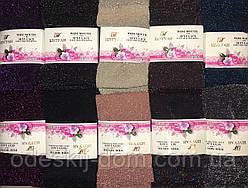 Жіночі капронові носочки з люрексом тм Шугуан