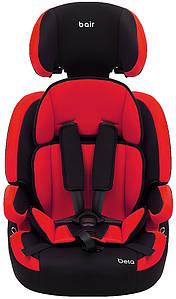 Автокрісло Bair Beta 1/2/3 (9-36 кг) DB2426 чорний - червоний