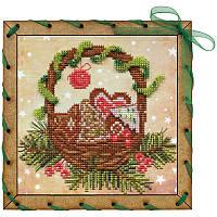 """Набор для вышивки на полимерной перфорированной основе Perfostitch """"Рождественские сладости"""", фото 1"""