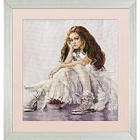 """Набор для вышивки нитками и бисером """"Вишневые мечты"""", фото 1"""