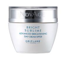 Дневной крем против пигментации SPF 20 NovAge Bright Sublime