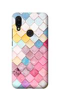 Чехол «черепица» для Xiaomi Redmi Note 7 Силиконовый