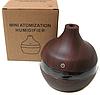Увлажнитель воздуха в виде вазы темное дерево Humidifier, фото 3