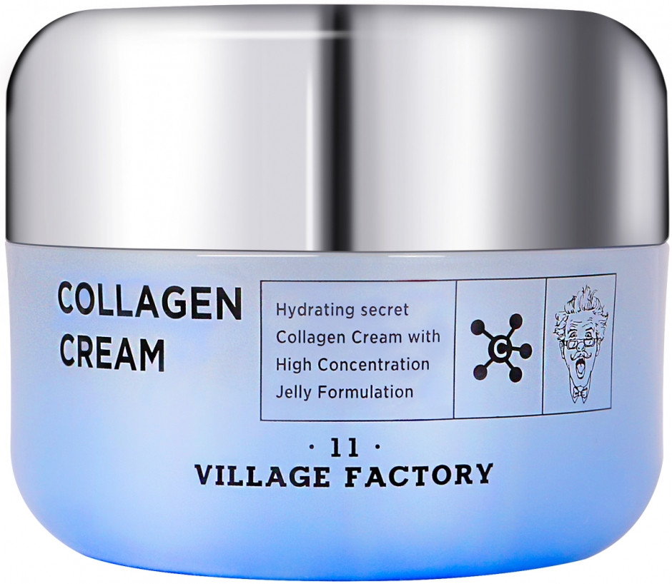 Увлажняющий крем для лица с коллагеном Village 11 Factory Collagen Cream, 50 мл