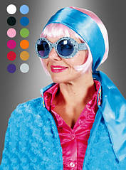 Разноцветные повязки на голову в 12-и оттенках