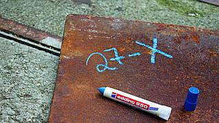Маркер по металлу edding e-950 Industry Painter синий
