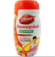 Для иммунитета Чаванпраш Дабур Чаванпракаш без сахара, Dabur Chyawanprash sugarfree, Cawanprakash, 500 г