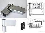 Петля дверная Simonswerk K3235 21-25мм 120кг серебро, фото 4