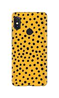 Чехол «Горох на желтом» для Xiaomi Redmi Note 5 / Redmi Note 5 Pro Силиконовый