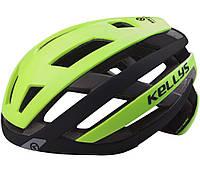 Шолом велосипедний Kls Result S-M Green SKL35-187733
