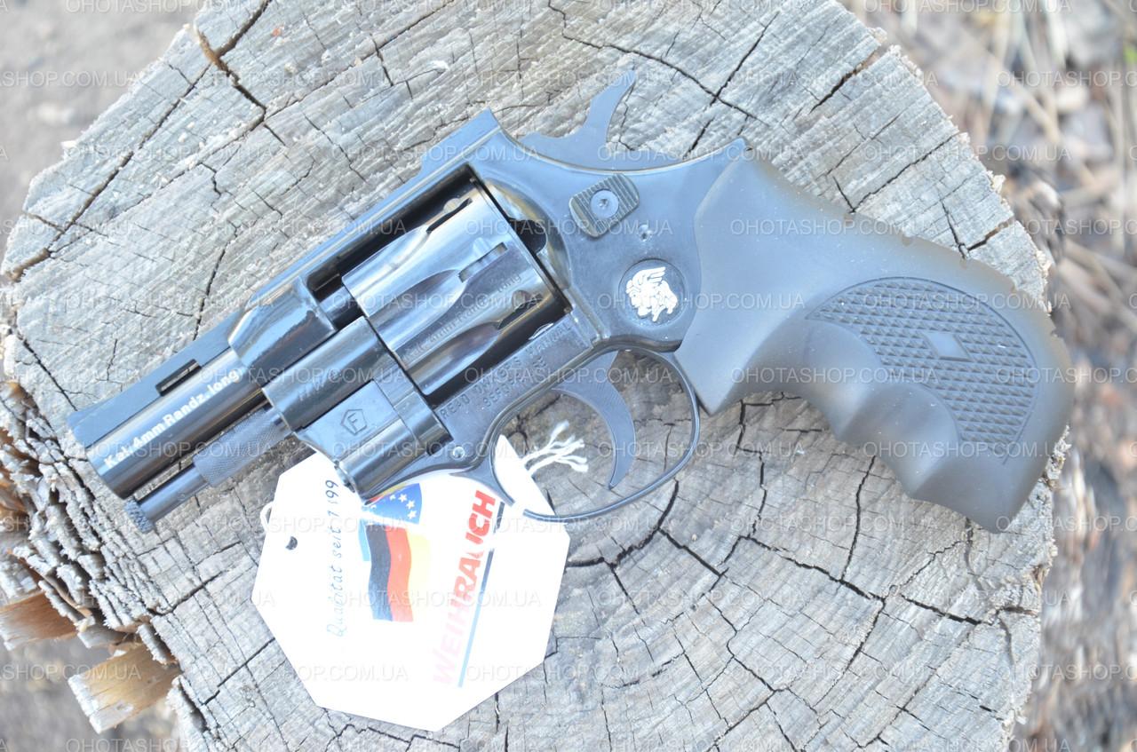 Револьвер под патрон флобер Weihrauch HW4 2.5 (Пластик)