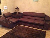 Угловой диван «Милан» от производителя + Видео коричневый