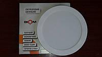 Светильник светодиодный Biom SF-R18 W 18Вт 5000K накладной