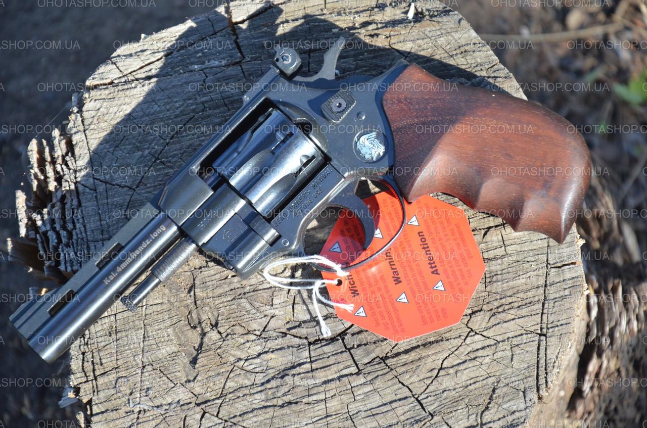 Револьвер під патрон флобер Weihrauch HW4 4 (Дерево)