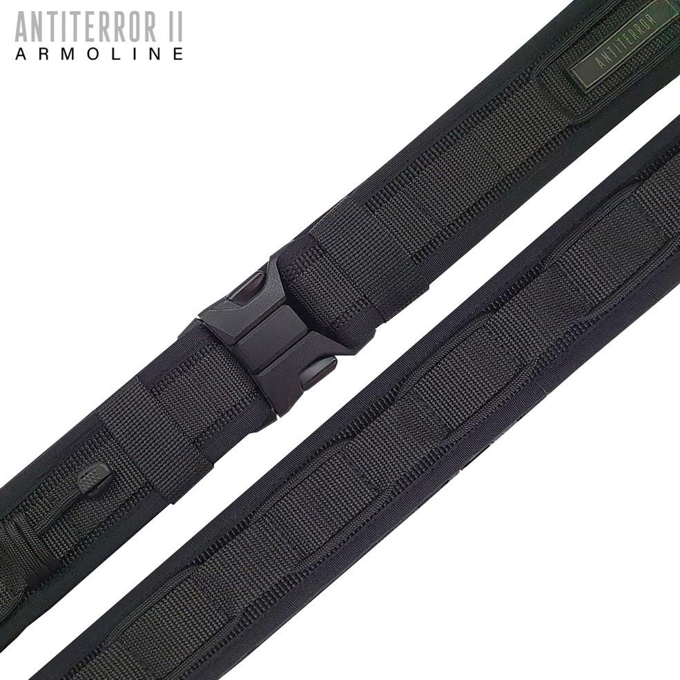 """Ремень тактический """"ANTITERROR II"""" BLACK (5 см)"""