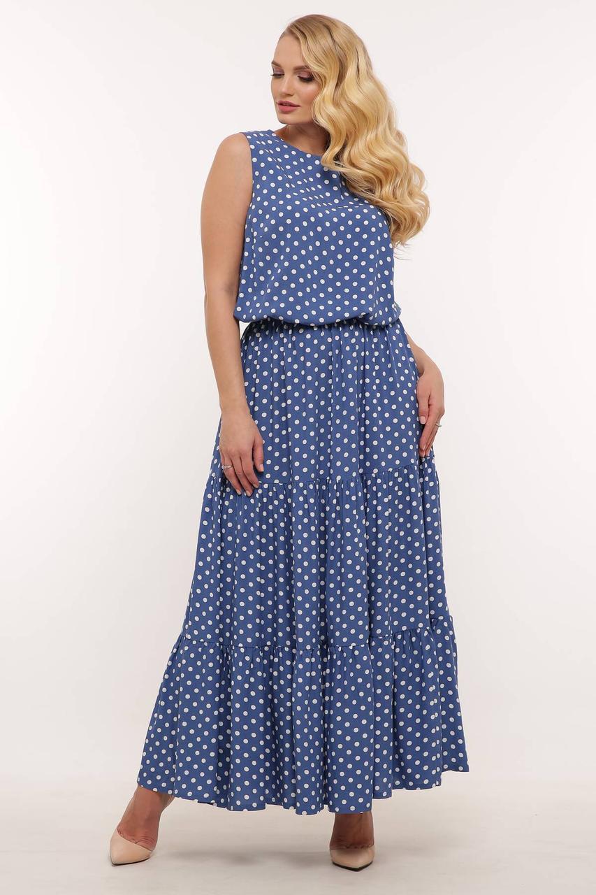 Платье из штапеля с 54 по 60 размер 2020