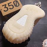 Кроссовки Adidas Yeezy Boost 350 V2 Адидас Изи Буст В2 full white Белые 🔥 Адидас мужские кроссовки 🔥, фото 6