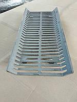 Чугунная решетка гриль для барбекю и мангала 480х220х70мм