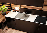 Кам'яна мийка Ventolux STELLA (BROWN SAND) 780x500x200, фото 2