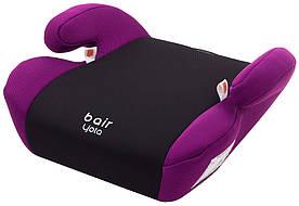 Автокрісло Bair Yota бустер (22-36 кг) DY2418 чорний - фіолетовий