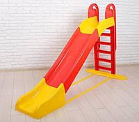 Горка большая 240 см. для катания детей Долони 014550/3, гірка Doloni
