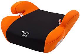 Автокрісло-бустер Bair Yota бустер (22-36 кг) чорний - помаранчевий