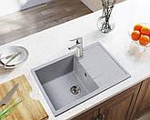 Кам'яна мийка Ventolux DIAMANTE (GRAY GRANIT) 780x495x200, фото 2