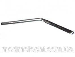 Електрод-ніж вигнутий