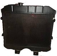 Радиатор вод. охлаждения УАЗ 469, УАЗ 452 3 рядный медный пр-во Иран Радиатор